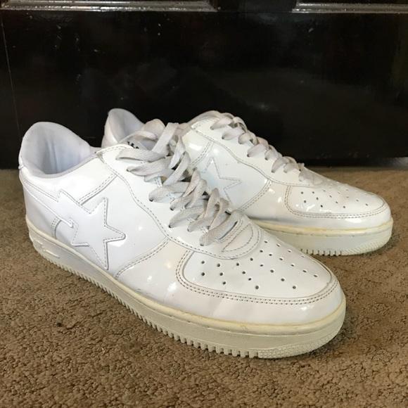 171eefba5e4c3 Bape Shoes | A Bathing Ape Sta White | Poshmark